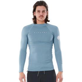 Rip Curl Down Patrol LS UV Shirt Men, mid blue marle